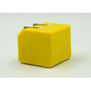 China Yellow USB Travel Charger Adapter , Travel Power Charger Adapter For 6S Samsung on sale