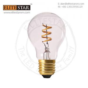 retro style vintage dimmable no flicking led spiral filament bulb