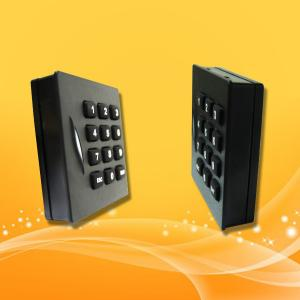 China Keypad RFID Card Reader , 13.56MHz Mifare Card Access Control Rfid Reader on sale