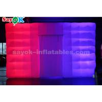 China cube LED light inflatable air tent for event / party / advertising on sale