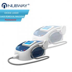 China Nubway portable home laser diode machine / laser hair removal diode equipment on sale