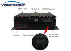 China Digital Video Recorder Mobile HD DVR 1080p Car Surveillance Camera System WCDMA 3G on sale