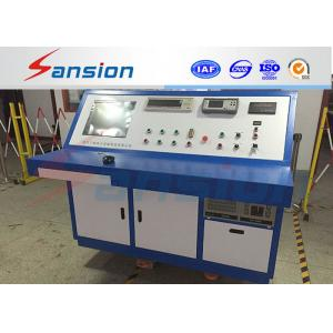 China PLC AC Motor Testing Equipment , LED Display Motor Diagnostic Equipment on sale