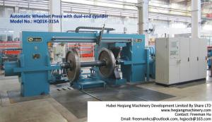 China HQ01 New condition Automatic Wheel Press machine, Wheelset Press for Railway vehicle maintenance on sale