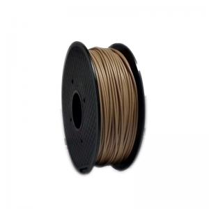 China 1kg Wood 3D Printer Filament Natural Color Good Toughness For Makerbot / UP on sale