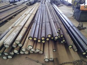 China ASTM Cold Work Tool Steel / Forged Round Steel Bar Length 3000-6000mm on sale