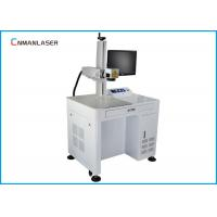 Small Scale 110*110mm EZCAD Software 20w Fiber Laser Marking Machine With Computer