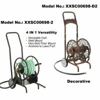 China Hose Reel Cart, Two Wheels, 60M (250F) Length Capacity for 5/8 Hose on sale