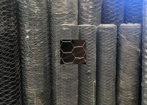 China Poultry Gabion Wire Mesh Fence / Chicken Wire Fencing Panels Double - Twisted on sale
