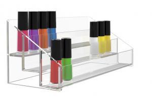 China Design Acrylic Nail Polish Floor Standing Racks Display on sale