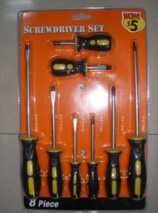China 8 pcs screwdriver tool set on sale
