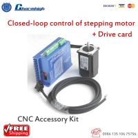 China HSS 57 Closed Loop Stepper Motor DIY CNC Kit With Drive Card Stepping Driver on sale