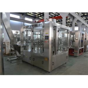 China Electric PET Bottle Automatic Hot Filling Machine 3 In 1 Water Bottle Filling Machine on sale