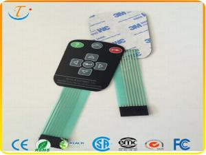 China Capacitive Touch Membrane Switch Keyboard With Non-conductive Layer on sale