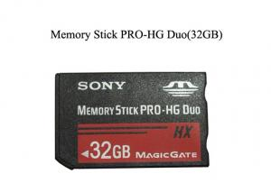 China Mobile Phone Spare Parts MMC Flash Memory Card Stick Pro Duo 32GB 14.5*10.5*2MM on sale