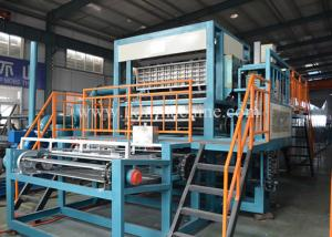 China Low Noise Pulp Egg Tray Making Machine , Paper Egg Tray Machine With Big Capacity on sale