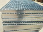 Hot Dipped Galvanized Steel Bar Grating Light Structure For Catwalks / Platforms