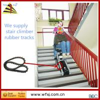 stair climber rubber track