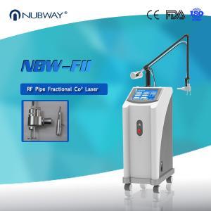 China 2018 hottest OEM&OEM RF Pipe skin resurfacing acne , scar removal Fractional CO2 laser on sale