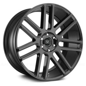 China custom size 20 21 22 forged rims wheel with matte black spoke barrels for luxury car on sale