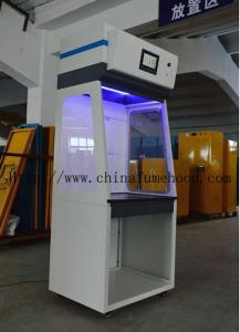 China Filtered Ductless Fume Hood Triangle Operating Hole Epoxy Resin Board Benchtops on sale