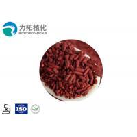 GMP Organic Red Yeast Rice Extract Powder Brownish Yellow Powder 2% 5%