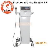 Best selling !!! Microneedle Fractional RF, RF Microneedling, RF Skin Tightening Machine Portable