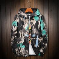 Cheap All Colorful Pullover Windbreak Waterproof Camo Men Sport Jacket