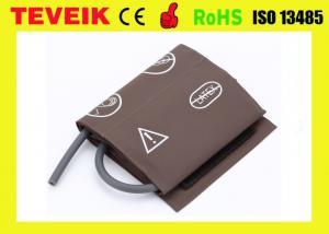 China PU Material Blood Pressure Monitor Cuff Arm Cir 27 - 35cm Single Hose on sale