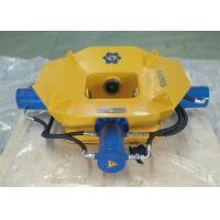 Yellow Hydraulic Pile Cutter , Concrete Pile Breaker 470kN Maximum Drill Rod Pressure
