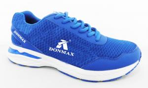 China Blue / Black Sketcher Sports Shoes Breathable Sport Running Shoes on sale