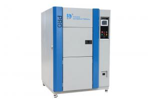 China Shock testing dry air purge system Viewing window Thermal Shock Chamber on sale