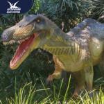 Waterproof Dino Model Handmade Outdoor Dinosaur Statues Remote Control 110/220V
