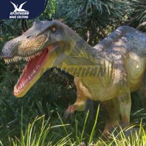 China Waterproof Dino Model Handmade Outdoor Dinosaur Statues Remote Control 110/220V on sale
