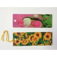 Custom 0.6 mm PET 3D Lenticular Bookmarks With Two Sides CMYK Printing ISO