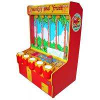 Fruit and Monkey Coins Redemption Game Machine For Teenagers / Kids ML-QF500
