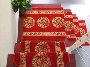 China Chinese Style Red Carpet Runner Tufted Stairs Rugs From China Carpets Factory on sale