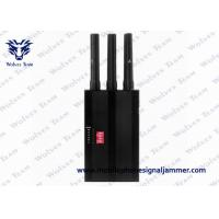 China Portable Handheld GPS Jammer 6 Bands Radius 1 - 15 M With Black Color on sale
