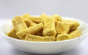 China Frozen Dried Mangos Freeze Dried Mango Chips for Baking and Backpacking on sale