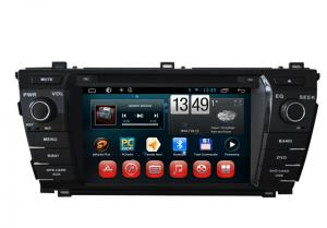 China 2014 Toyota Corolla GPS Navigation Android DVD Player 7inch Touch Panel on sale