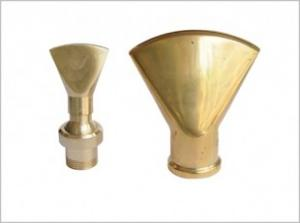 China Fine brass fan-shaped fountain nozzle on sale