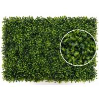 Grape Leave Artificial Green Plants , Artificial Hedge Screening Wall