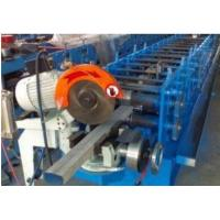 China Round / Square Water Downspout Roll Forming Machine With PLC Control System on sale
