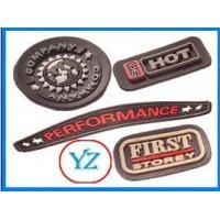 2013 fashion design soft PVC garment badge