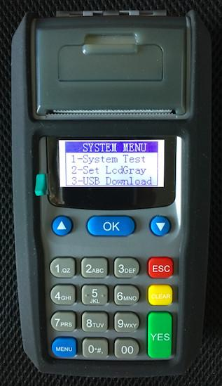 Movotek Direct Top-up POS Terminal with SMS Printer