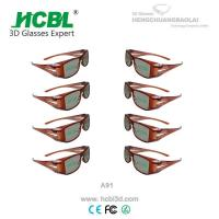 Famous TV Television Circular Polarized 3D Glasses 3D Computer Game Use