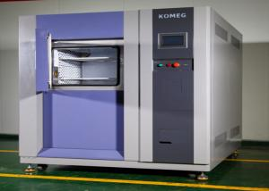 China 2 Zone Basket Type Cold Hot Thermal Shock Chamber  Lab Stablity For Electronic on sale