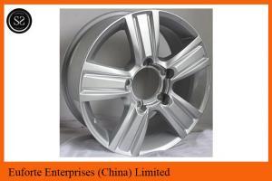 China Land Cruiser Toyota Replica Wheels 18inch Hyper Silver 5 x 150 wheels on sale