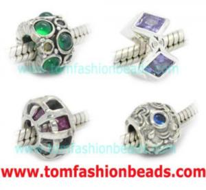 China Sterling Silver European Beads on sale