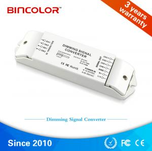 China Zhuhai Bincolor led signal dimmer 4 channel dali to 0-10v signal led dimming converter on sale